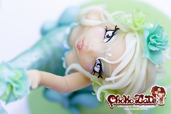 Lady Sirena by ChokoLate (4/25/2013) View details here: http://cakesdecor.com/cakes/60112