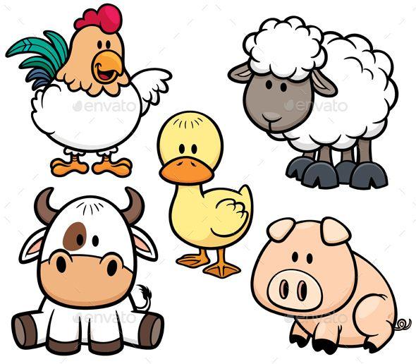 Farm Animals Farm Cartoon Cartoon Animals Cartoon Drawings Of Animals