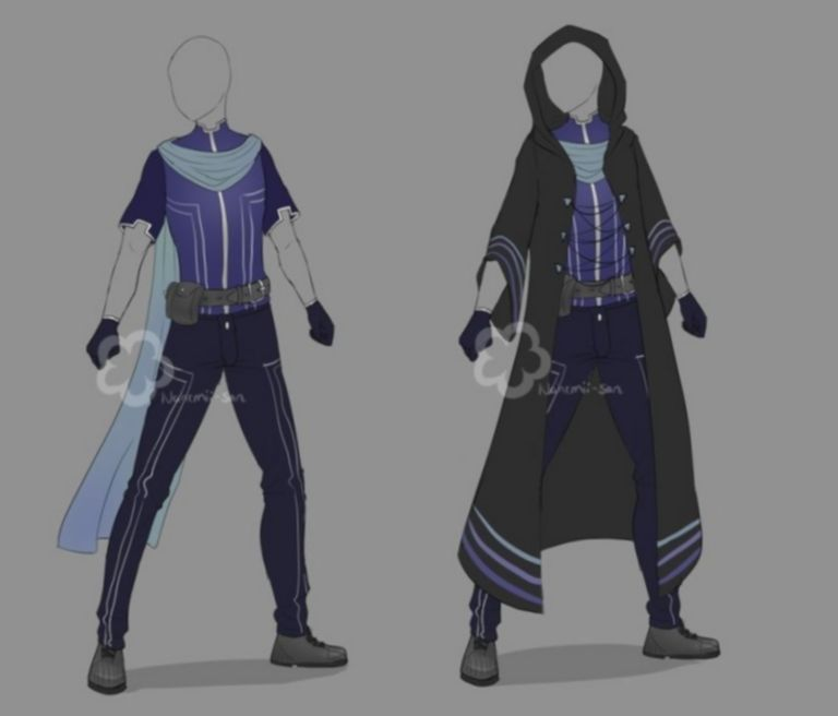9 Anime Outfits Fantasy Male Fantasy Clothing Anime Outfits Drawing Anime Clothes