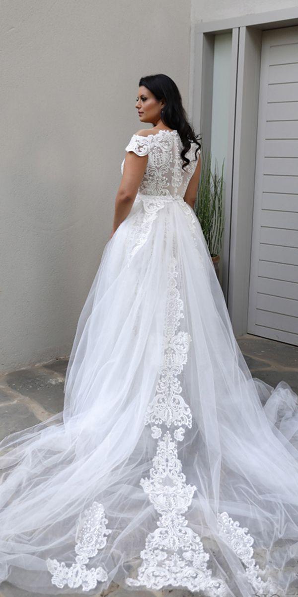 42fb351536d 24 Graceful Plus Size Wedding Dresses