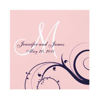Pink & Navy Wedding- i like the soft pink too!