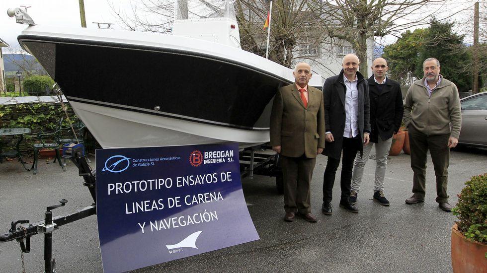 El primer buque gallego sin tripulación interesa a varios Gobiernos y empresas | NUESTROMAR