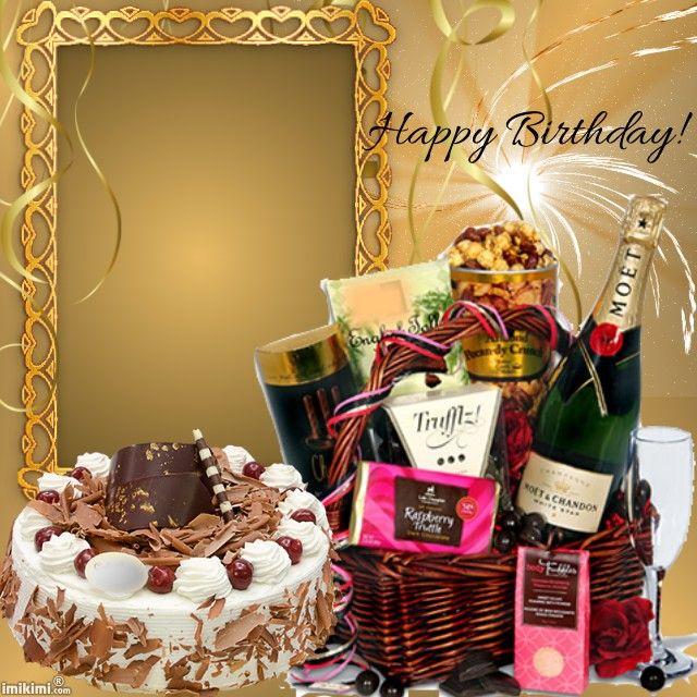 Kimi Template Created By Horror02 Happy Birthday Greetings Friends Happy Birthday Wishes Photos Birthday Frames