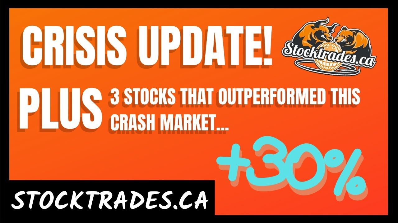 Top Canadian Stocks To Buy In April 2020 Stock Market Crash Update Plenty Of Good Investment Options For The Defen Stock Market Crash Stock Market Marketing