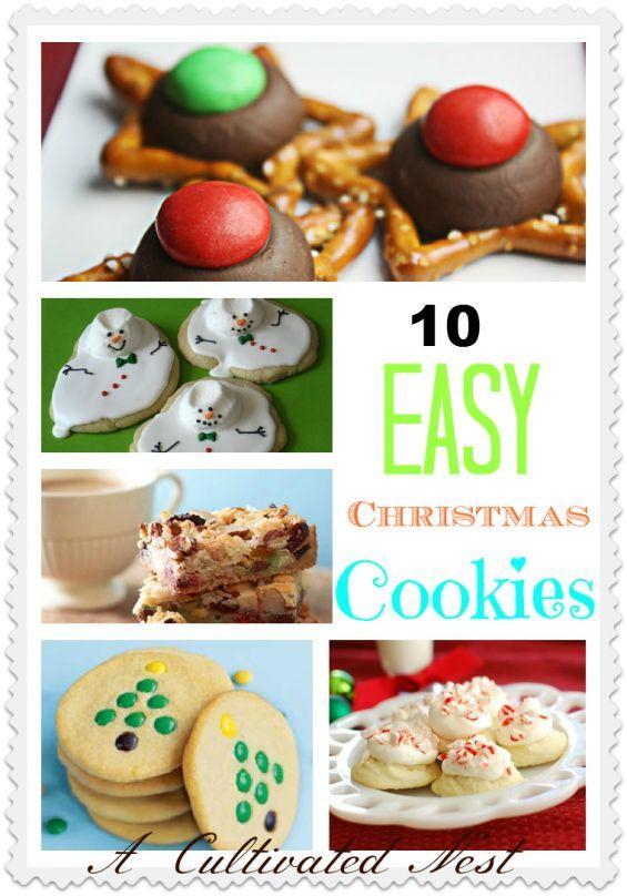 10 easy christmas cookie ideas