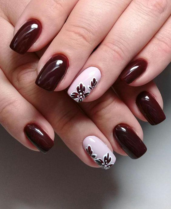 15 Diseños de uñas inspirados en el encanto de las flores ...