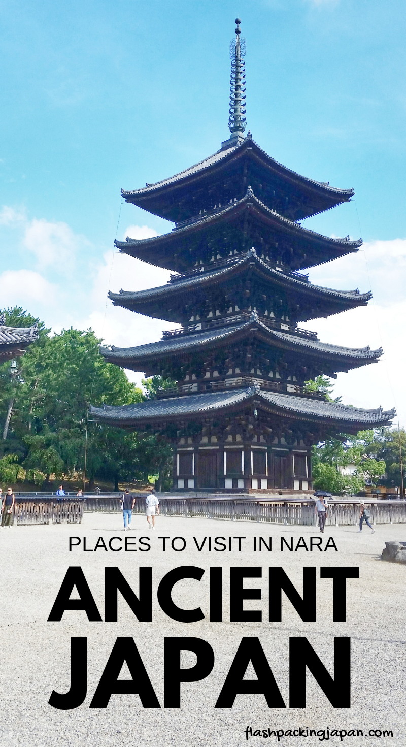 MAP: UNESCO world heritage sites in Nara :: Backpacking Japan   Japan travel, Outdoor travel ...