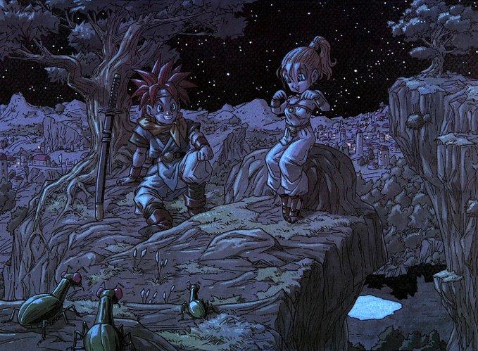 Akira Toriyama Art On Twitter Chrono Trigger Artwork Chrono