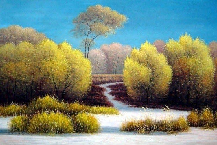 19 Lukisan Pemandangan Beraliran Van Gogh Dianggap Sebagai Salah Satu Pelukis Terbesar Dalam Sejarah Seni E Di 2020 Lukisan Bunga Matahari Pemandangan Lukisan Bunga