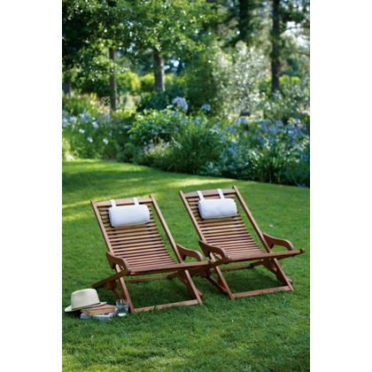 Peru VIP Relaxers with Cushions - Natural (pack of 2) at Homebase ...