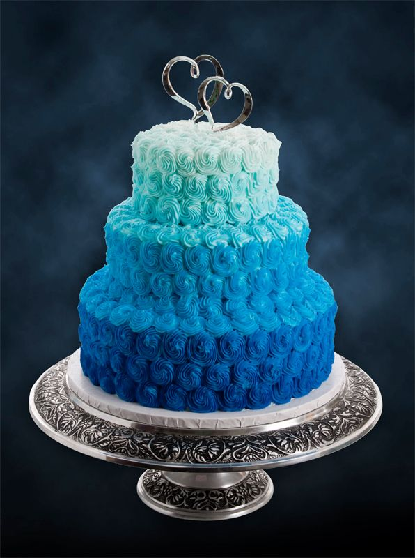 Blue Ombre Cake I Got The Blues Birthday Party In 2019