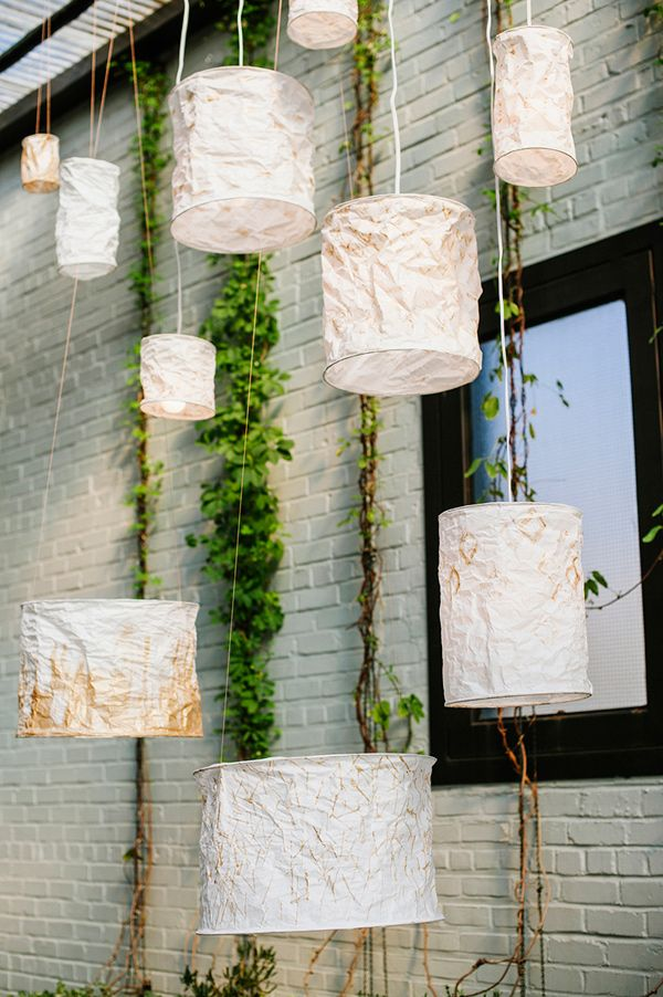 Diy Rice Paper Lanterns With Creativebug Ruffled Paper Lanterns Diy Diy Paper Lanterns Wedding Paper Lanterns Wedding