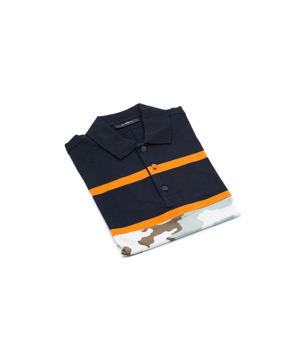 e4454e28339c7 GIVENCHY Givenchy Men S Black  Amp  Camo 100% Cotton Polo .  givenchy   cloth  t-shirts