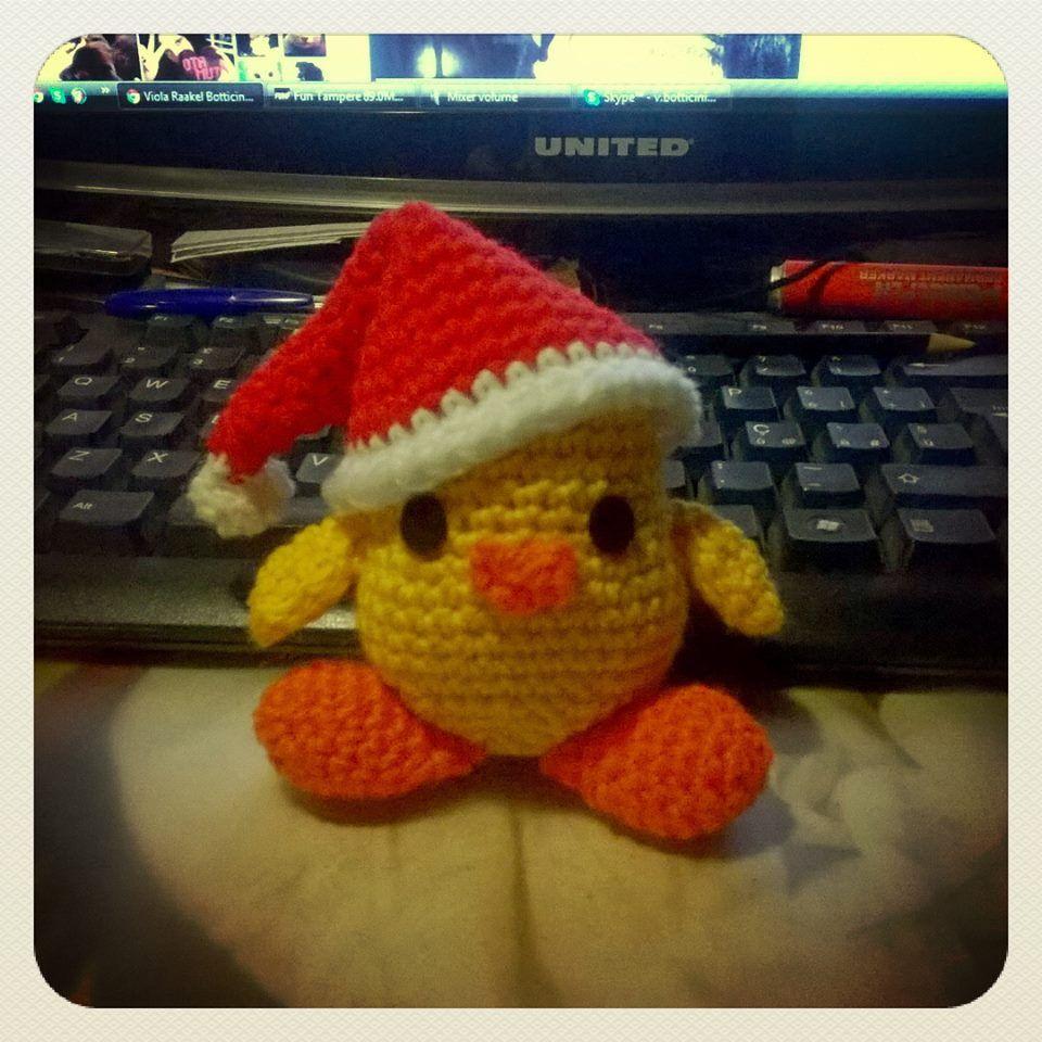 #littlechicken #christmas #amigurumi #crochet