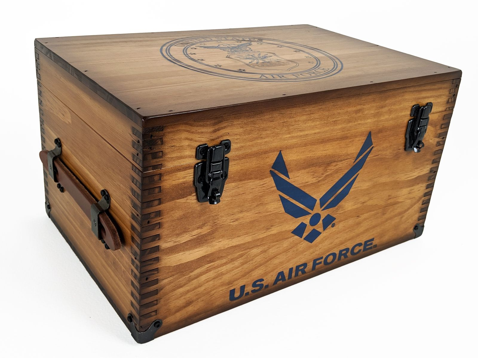 Air Force Keepsake Footlocker Relic Wood in 2020