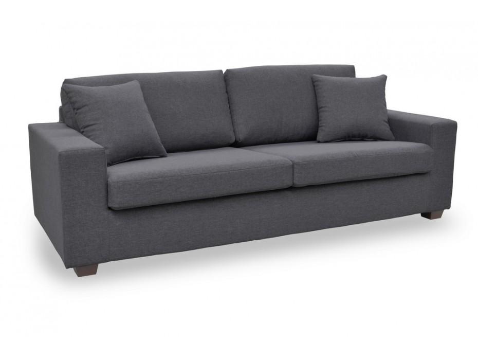 3-Sitzer-Sofa Stoff Yudo - Grau günstig | Kauf-Unique ...
