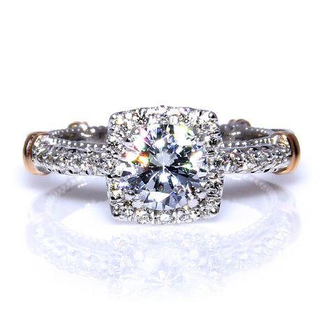 Verragio Parisian Engagement RingD123CUAndrews Jewelers