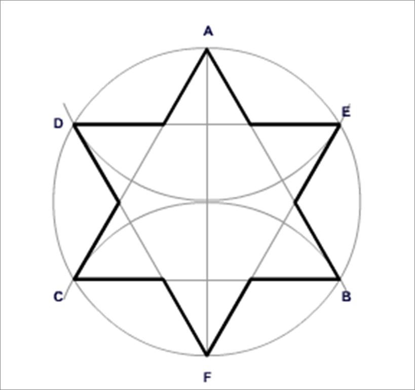 Resultado De Imagen De Estrella De 6 Puntas Dibujo Tecnico Art Symbols Graphic