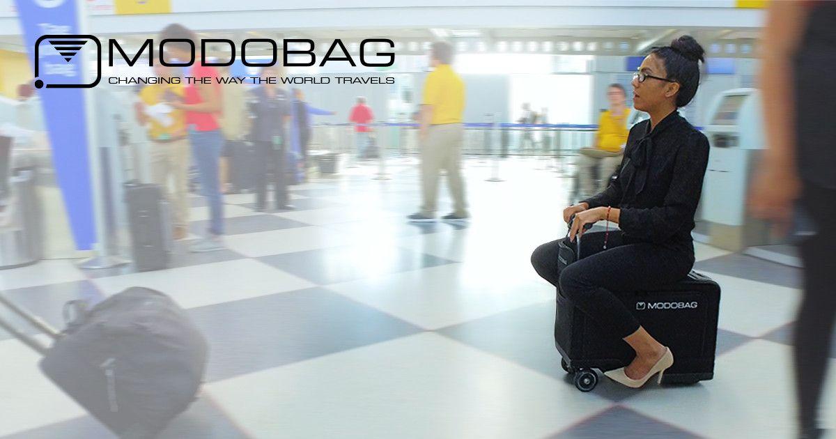 The carry-on smart luggage that gets people to their destination 3x faster than walking! | Mit Crowdfunding kann man auf demokratische Art Gelder für die eigene Community sammeln. Mach mit und unterstütze noch heute ein Projekt!
