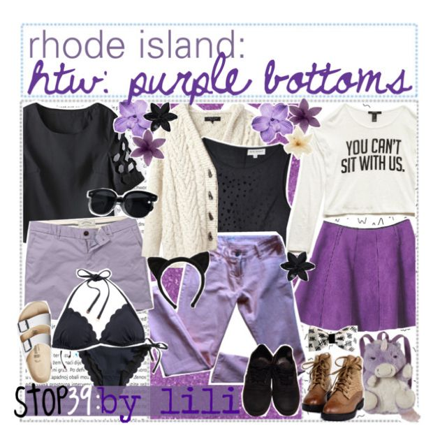 HTW: Purple Bottoms by the-uptown-gurus