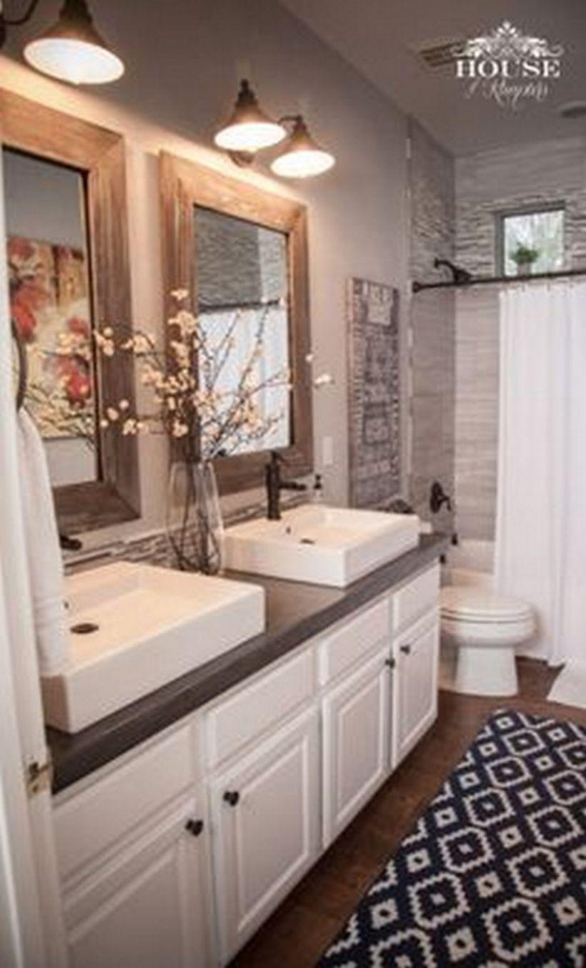 46 Paint Colors Farmhouse Bathroom Ideas Modern Farmhouse Bathroom Home Home Remodeling