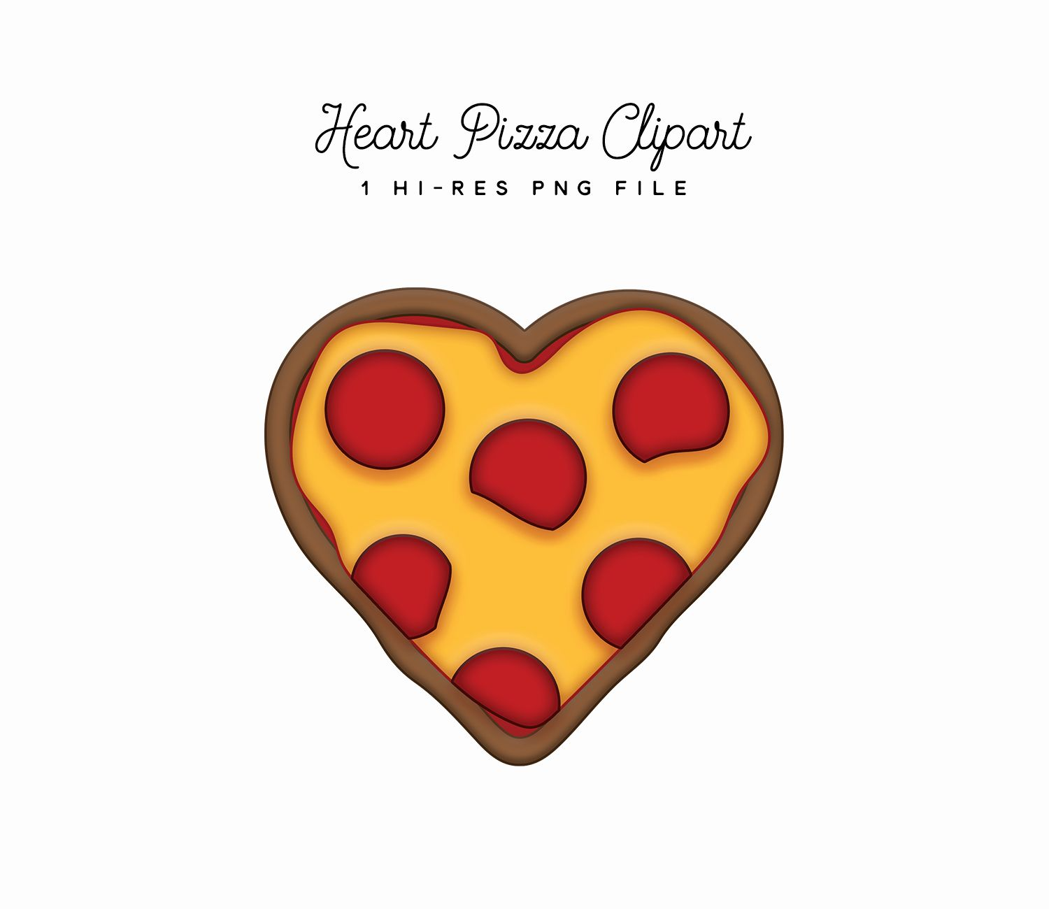 Pizza Toppings Coloring Pages Fresh Heart Pizza Clipart Coloring