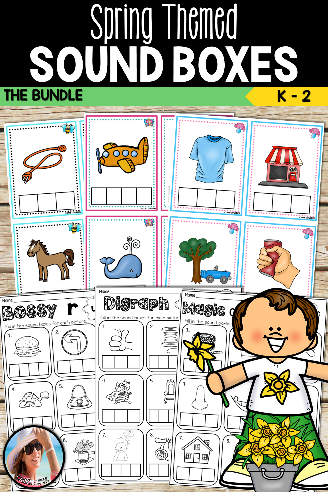 Sound Boxes The Bundle Short Vowels Magic E Bossy R