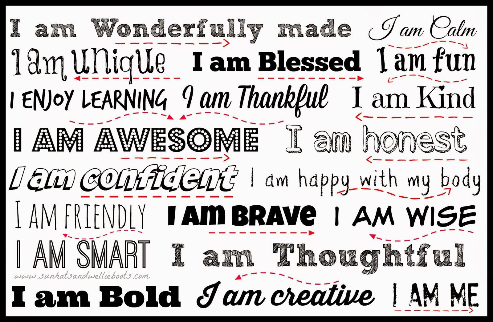 Affirmation Mirrors For Kids
