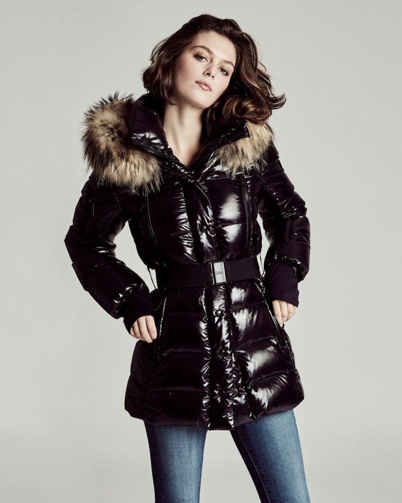 Sam Millennium Fox Fur Trim Puffer Jacket Fashion Winter Jackets Outerwear [ 1000 x 800 Pixel ]