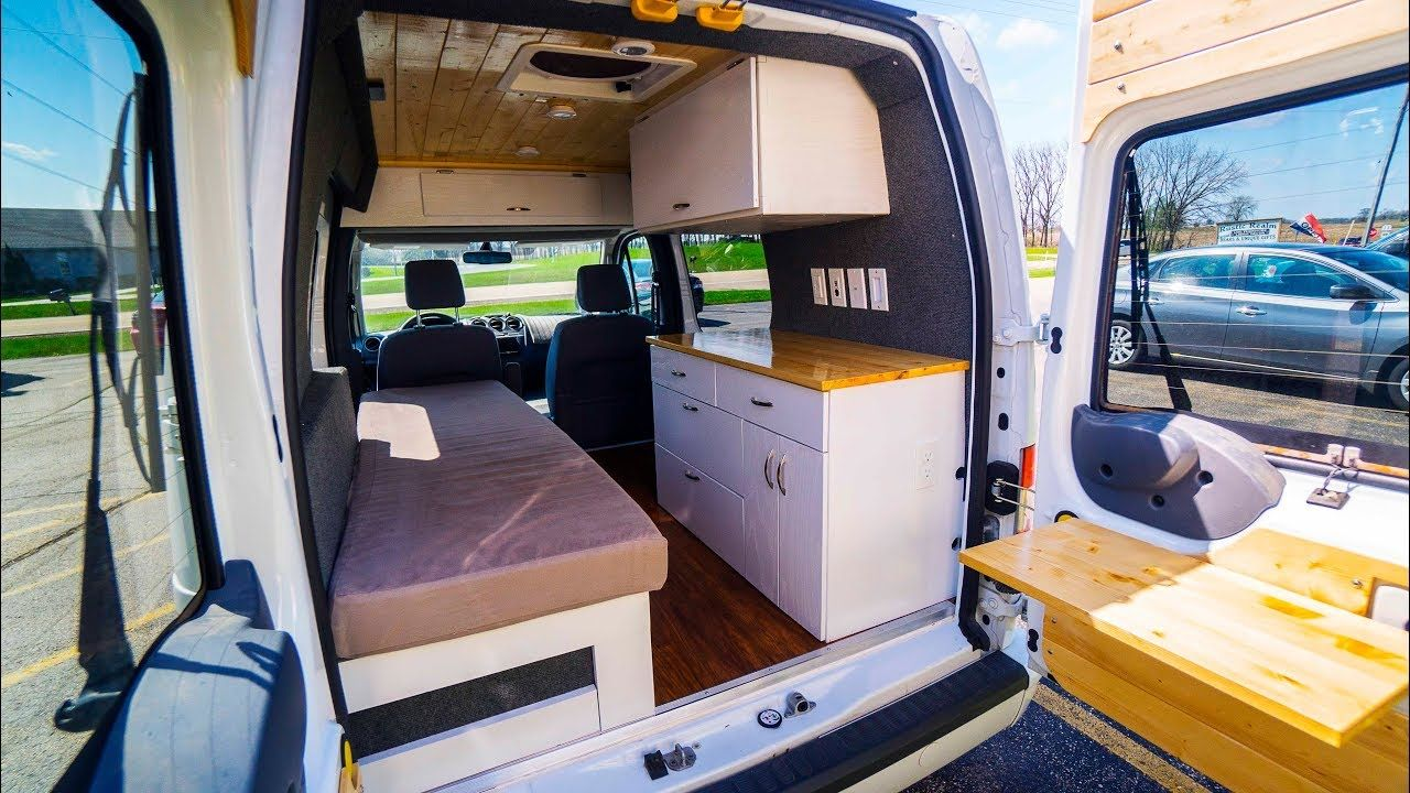 Custom Diy Tiny Van Full Van Tour 2012 Ford Transit Connect