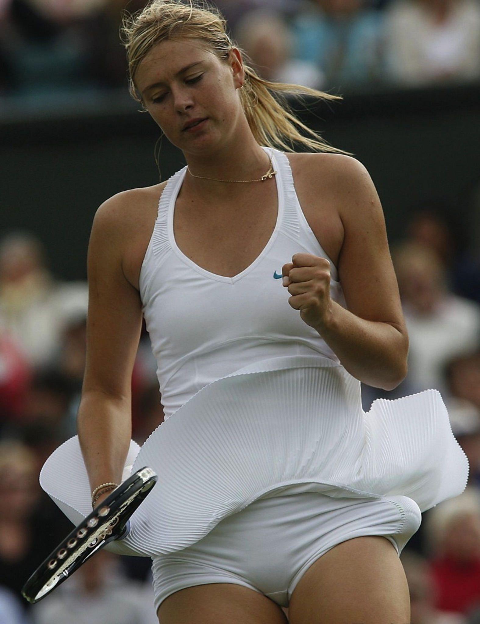 Maria Sharapova Hot Upskirt1 Maria Sharapova Hot