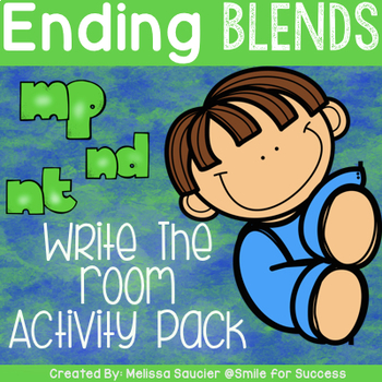 Resources for Teaching Blends and Digraphs   Make, Take ...   Ending Blends Picture Cards Printable