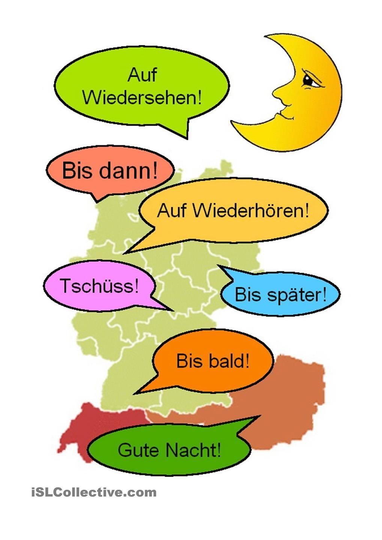 abc-deutsch: Begrüßung und Abschied- formy pozdrowień.... | Deutsch ...