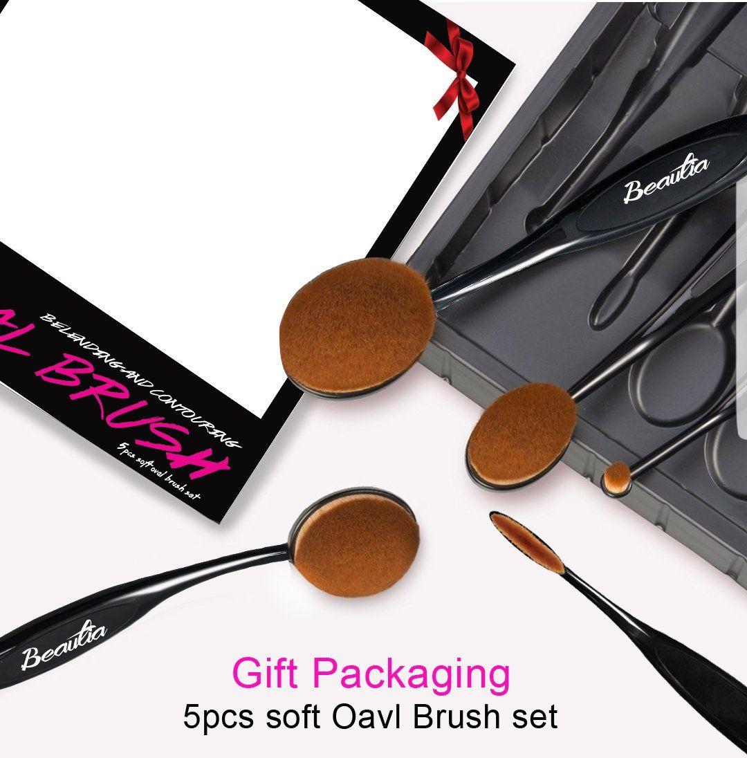 Professional Multifuction Makeup Oval Brush 5 pieces set
