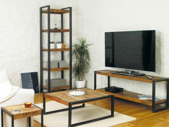 Industrial chic wohnzimmer  ausgefallene möbel industrial möbel wohnzimmer | Möbel - Designer ...
