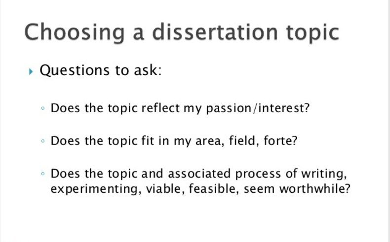 Cool Choosing Dissertation Topic How To Do It Right Where Take Them From Choose A