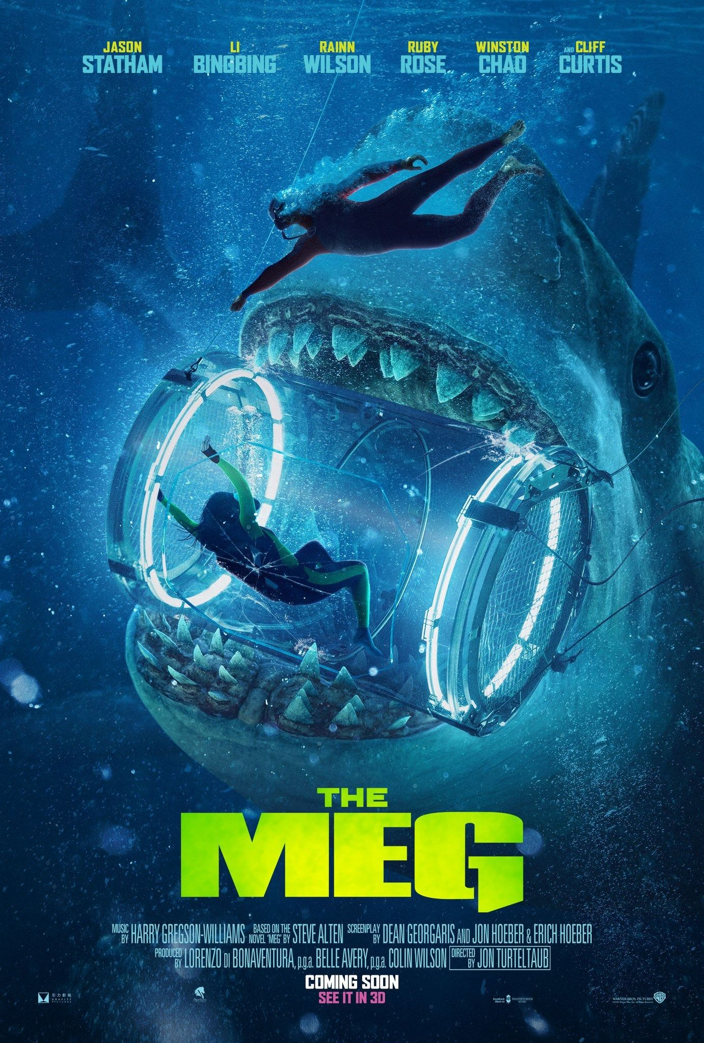 The Meg 2018 Meg Movie Megalodon Movie Megalodon