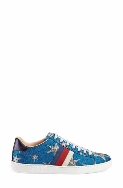 c31c80e1d67 Gucci Star New Ace Sneaker (Women)