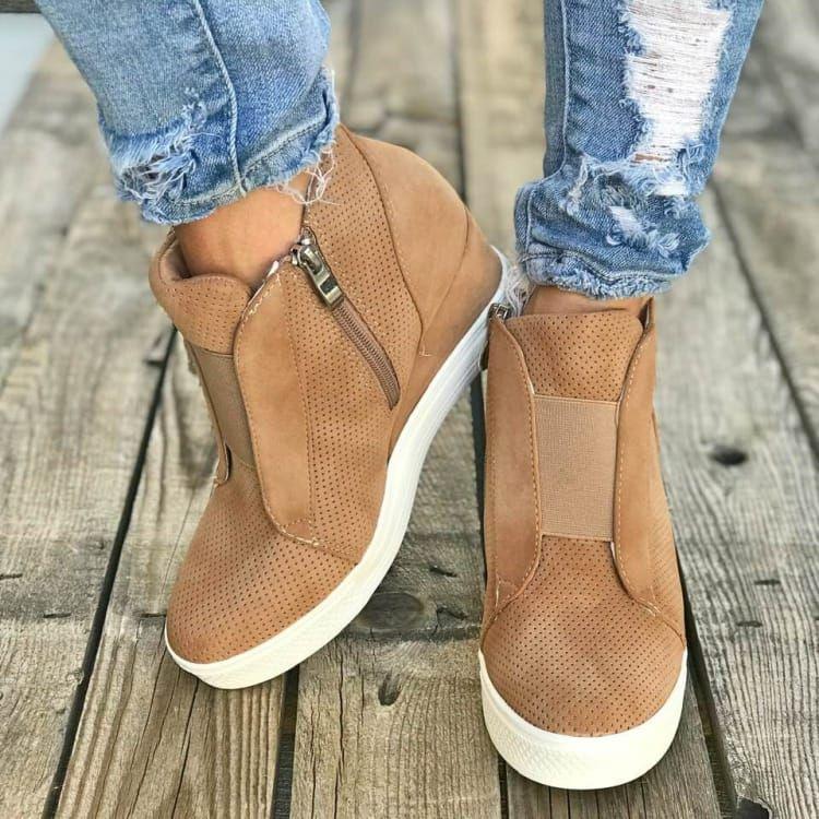 Iris Wedge Sneakers | Wedge sneakers