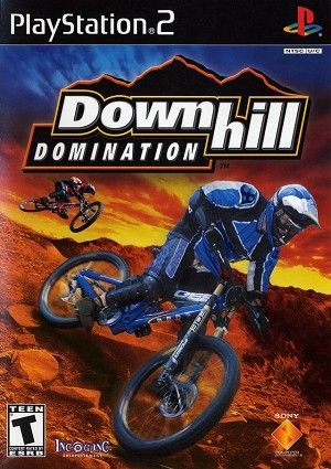 Downhill Domination Sony Playstation 2 Game Jogos Para