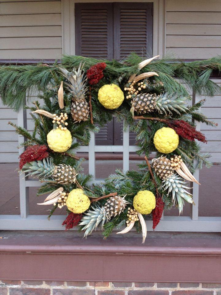 Williamsburg 2014 | Christmas wreaths, Christmas, Holiday ...