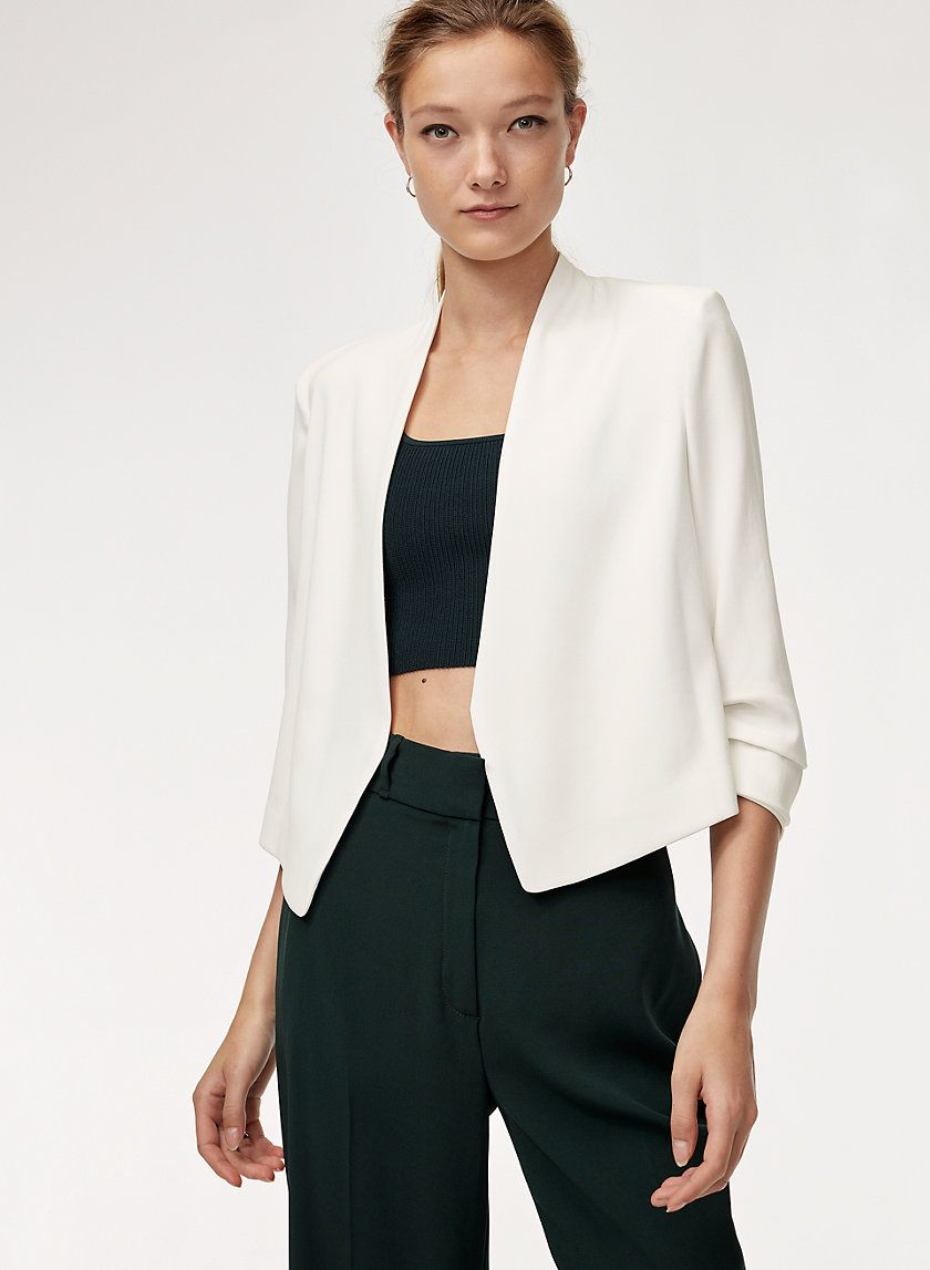 86f1d0cac Macauley short blazer | fashion/outfits ♥ | Blazer, shorts, Blazer ...