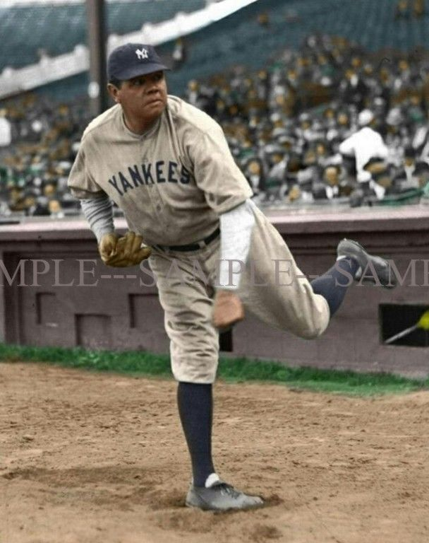 Babe ruth in color-7719