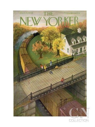 The New Yorker Cover - October 9, 1948 Poster Print by Edna Eicke at the Condé Nast Collection