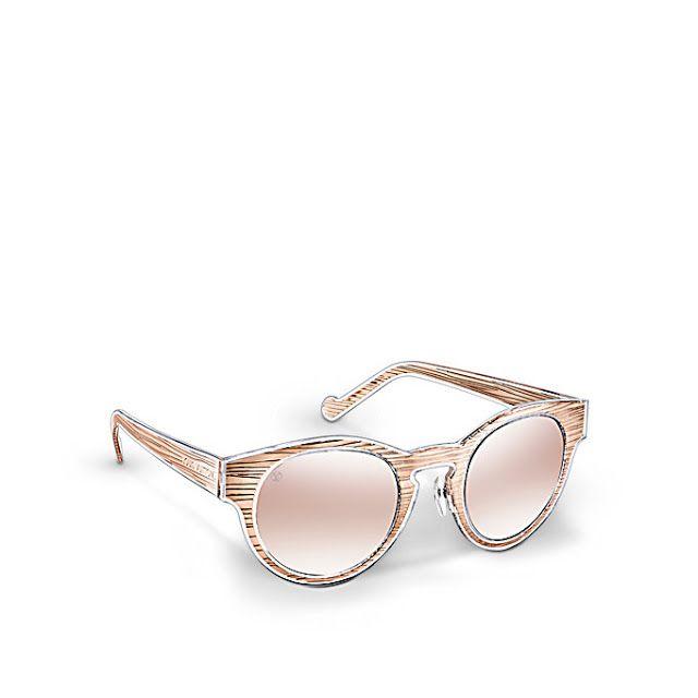 a4926bfc86a3 Louis Vuitton Rosalie Epi Sunglasses