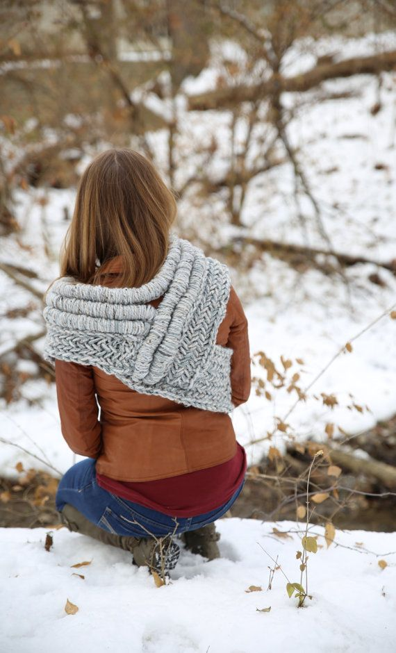 Katniss inspired cowl vest scarf shawl - Not one to be over the moon ...