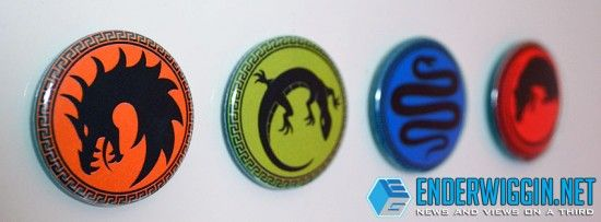 Enter to win a set of these four #EndersGame army magnets!