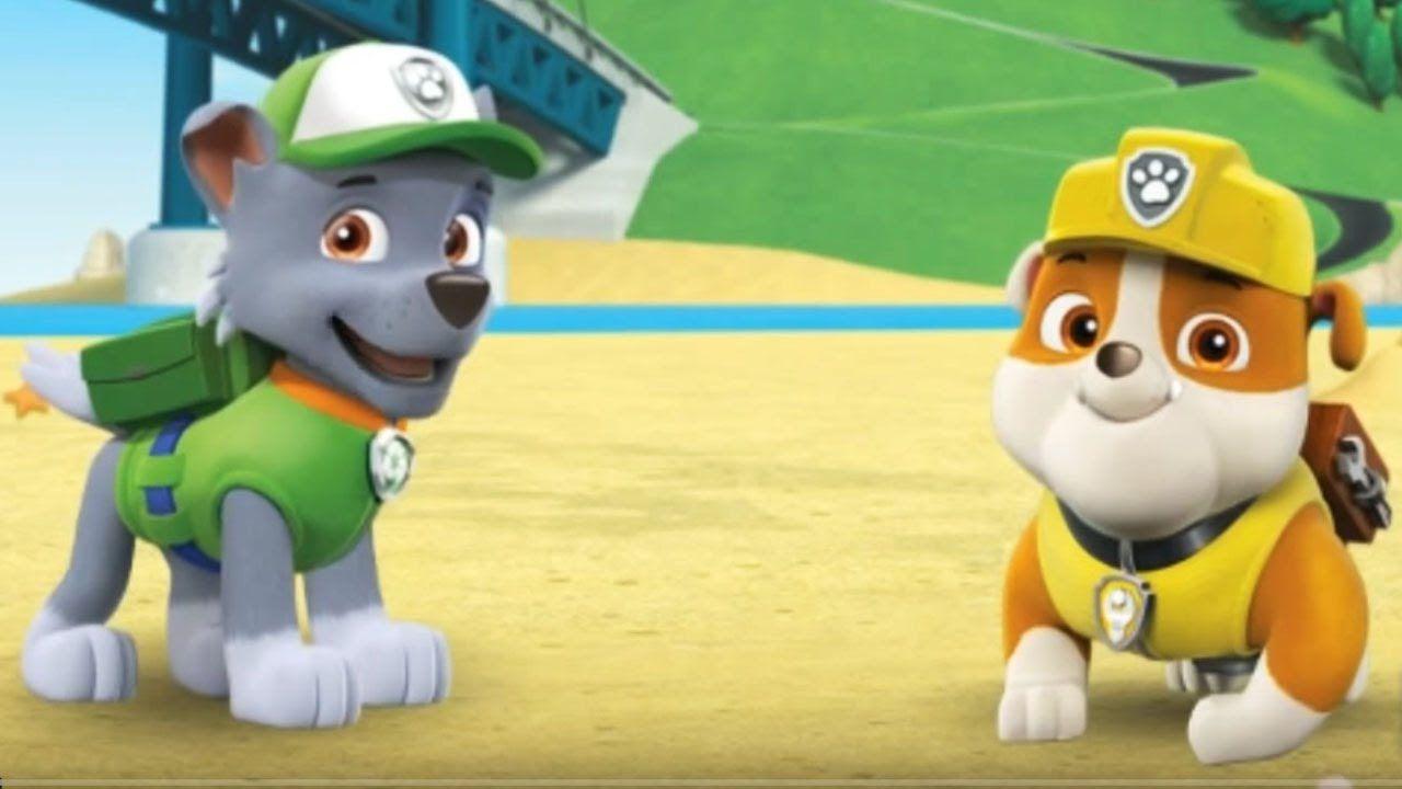 PAW Patrol Nickelodeon Nick Jr Kids Cartoon Game English Episode ...