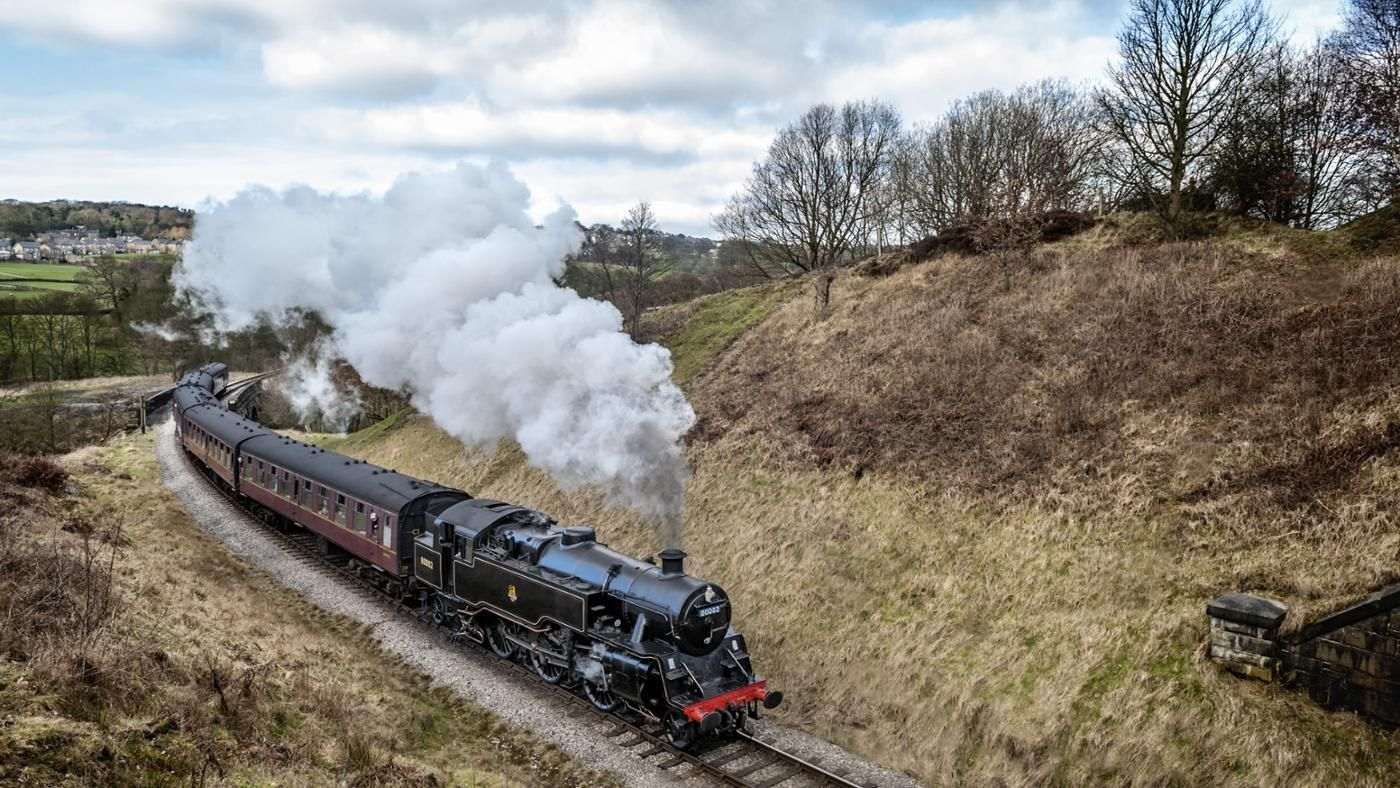 When Was the First Train Invented? | James watt