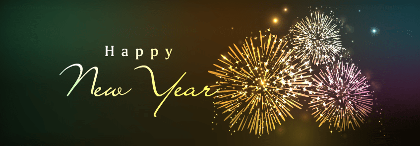 Happy New Year 2021 in 2020 Cover pics for facebook